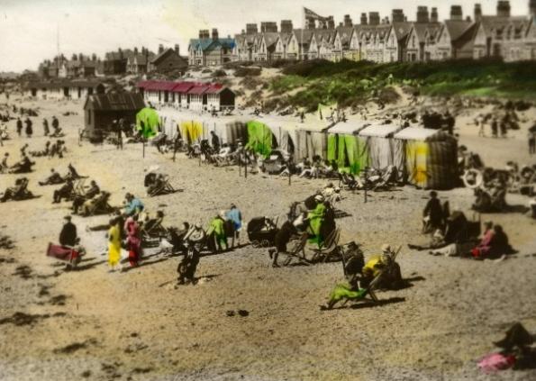 1930s St Annes Beach Huts