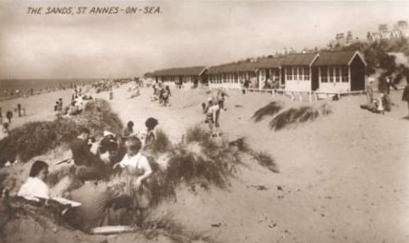1940s St Annes Beach Huts