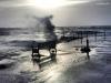 Bench Dec13 storm Lytham St Annes