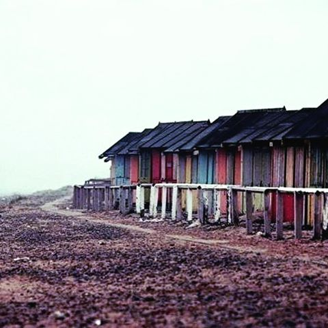 Anyone remember these rather battered looking St Annes Beach Huts?hellip