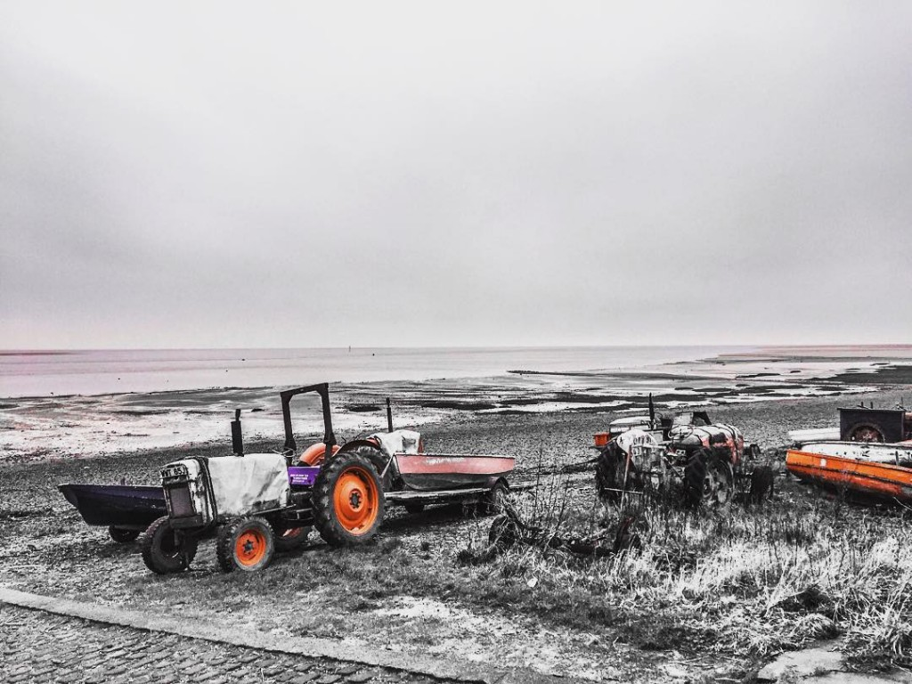 tractorpull shrimpers seaside Lancashire beachlife freshlocalproduce