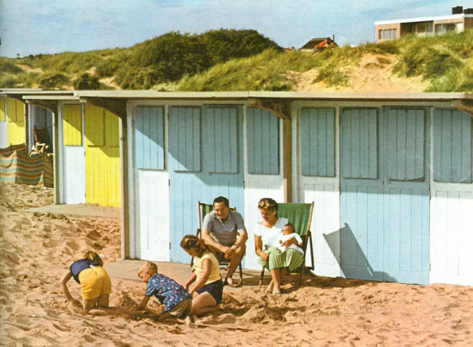 History St Annes Beach Huts 1980