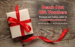 Beach Hut Gift Voucher