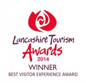 Lancashire Tourism Awards 2014 winners logo Best Visitor Experience Award - Best Visitor Experience