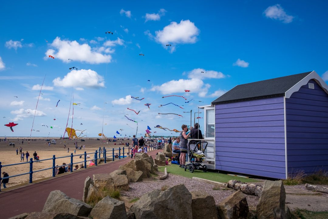 Beach Hut Rental St.Annes Beach Apartments Annes | Kite Festival