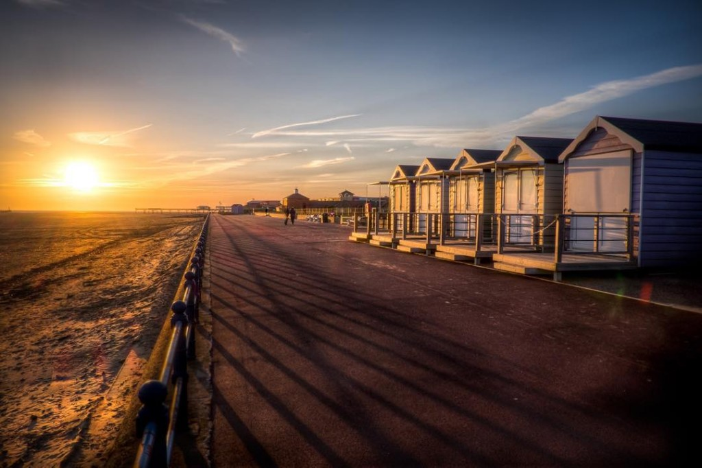 beachhuts seaside stannes lancashire