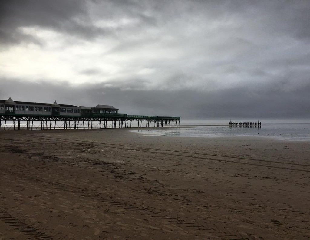 Weathers finally broke seaside lythamstannes Lancashire beachlife feb16