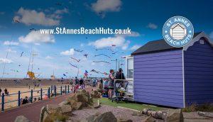 St Annes Beach Huts | St Annes Kite Festival