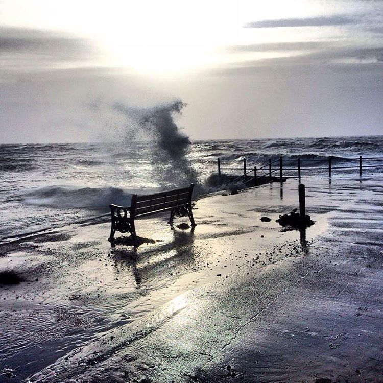 bigwaves StAnnes seaside Lancashire
