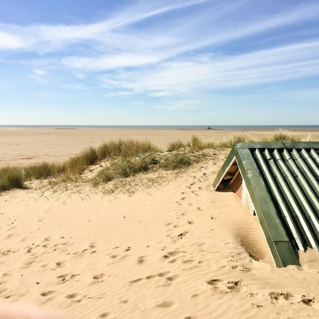 Nothing but blue skies here northbeach stannes lancashire mothersdayweekend