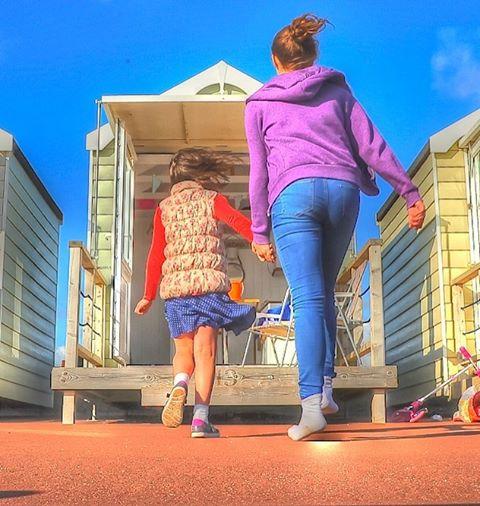 beachhuts familytime seasidefun simplepleasures stannes lancashire
