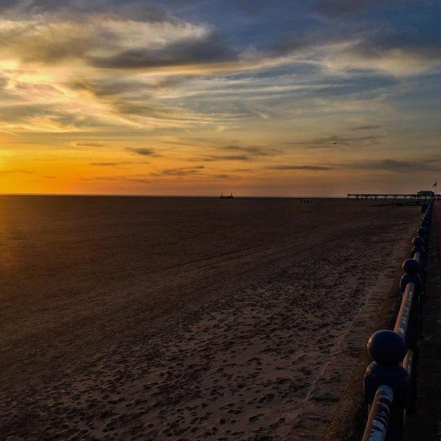mothersdayweekend beachweather sunset stannes seaside lancashire