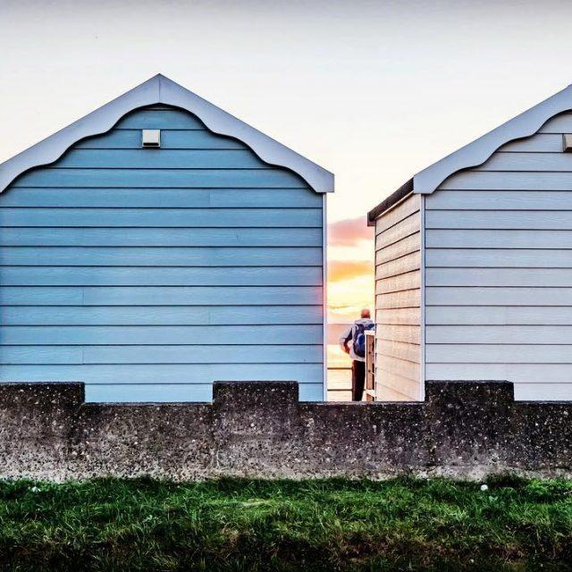 Admiring the November sunset stannes lovewhereyoulive seaside lancashire